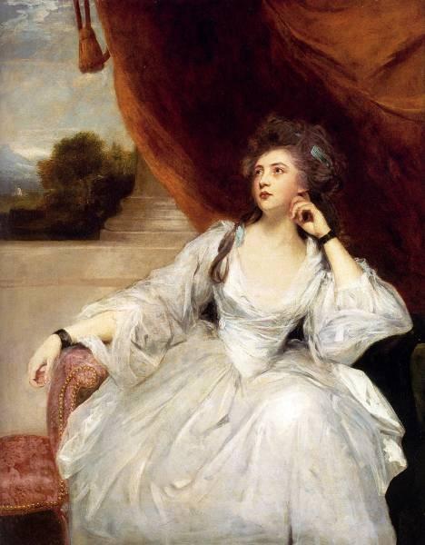 Portrait Of Mrs Stanhope